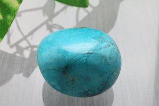 【ペルー産】クリソコラ 原石 17g お守り石 タンブル