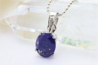 天然ダイヤモンド付き!ラピスラズリ ペンダントトップ 宝石キラキラカット 高品質AAAAA 9月誕生石