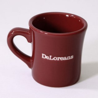 5周年記念DeLoreansマグカップ