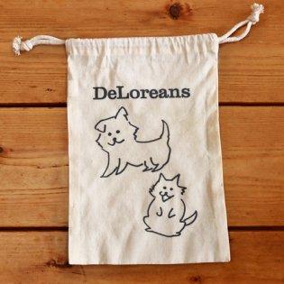 DeLoreans大福巾着の商品画像