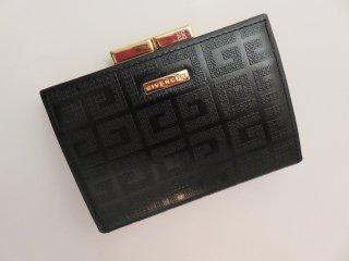ヴィンテージ Givenchy  GGロゴ コンパクト がま口 コインケース