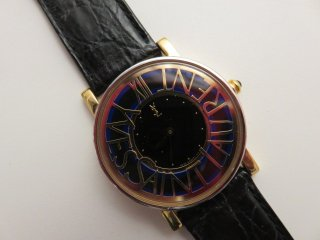 希少‼ Yves Saint Laurent サークルロゴ 腕時計