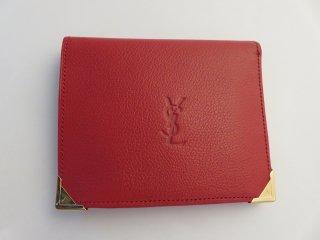 デッドストック‼ ヴィンテージ イヴサンローラン 二つ折り財布