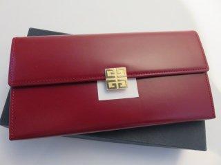 デッドストック‼ ヴィンテージ GIVENCHY ゴールド金具 がま口長財布