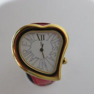 Yves Saint Laurent ハート型 ヴィンテージ 時計