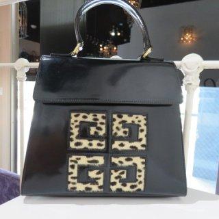 GIVENCHY ジバンシィ ヴィンテージ ロゴ ハンドバッグ