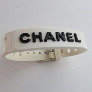 CHANEL シャネル ラバーバングル 99年製 ヴィンテージ 名作