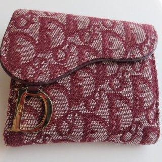 デッドストック Dior ディオール トロッター ヴィンテージ 二つ折り財布