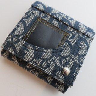 デッドストック Dior ディオール トロッター ヴィンテージ 三つ折り財布
