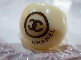 CHANEL ヴィンテージ シャネル ココマーク ロゴ リング