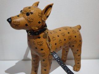 VINTAGE CHANEL シャネル ココマーク マトラッセ 小型犬 首輪 リード