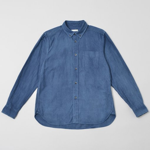 Natural Indigo Dye Oxford B/D shirt