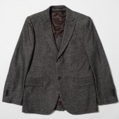 Melton Wool Cotton 2 Botton Jacket