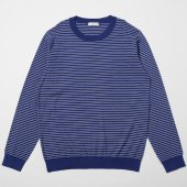 Pinstripe Crew Neck Sweater for RECTOHALL