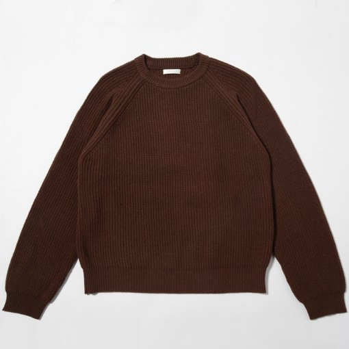 Wool Sable Low Gauge Sweater