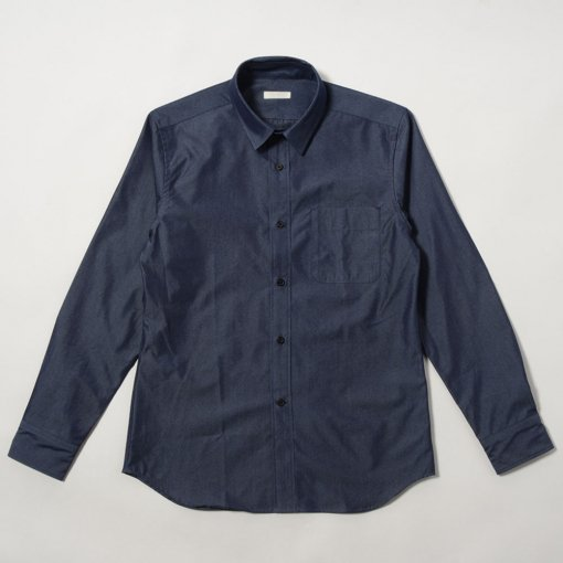 Supima Cotton Silk Dungaree L/S Shirt
