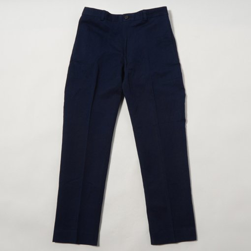 Indigo Dye Cotton Linen Pants