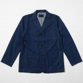 Bio Stone Cotton Wool Denim 3B Jacket