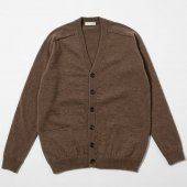 Yak Wool V-Neck Cardigan