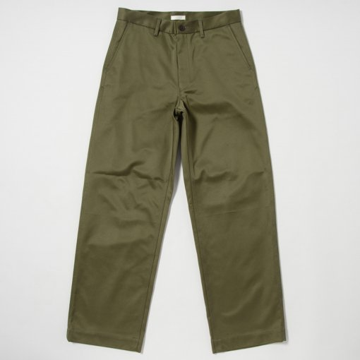Giza Cotton Wide Chino Pants
