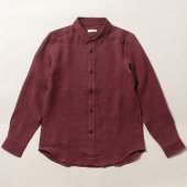 Linen Wool Flannel Shirt