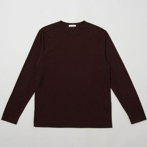 Cotton Cashmere Soft Brushed L/S Tee