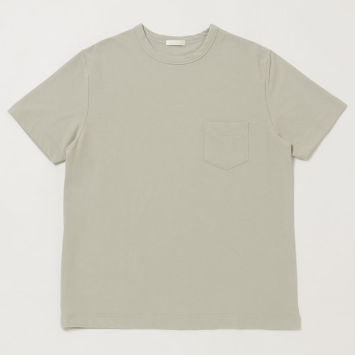 Dry Touched Cotton Inlay S/S Pocket Tee