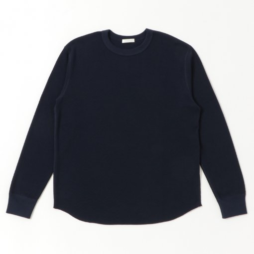 Pima Cotton Thermal Crew Neck L/S Tee