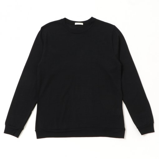 Washable Wool Crew Neck L/S Tee