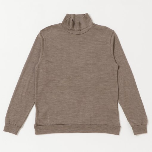 Washable Wool Turtle Neck L/S Tee