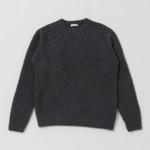 Baby Alpaca Wool Crew Neck Sweater