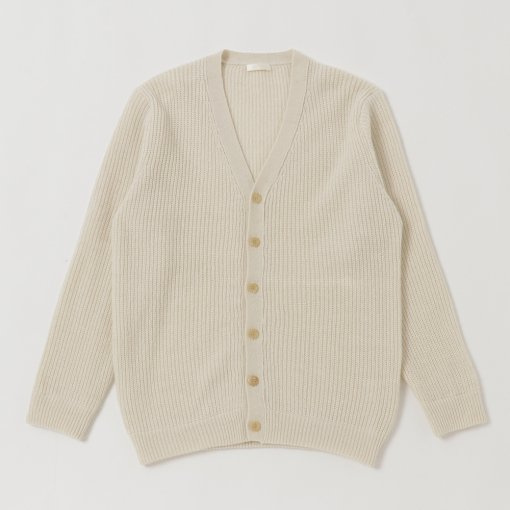 Baby Alpaca Wool. V-Neck Cardigan