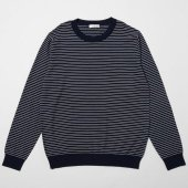 Pinstripe Crew Neck Sweater (Sample)