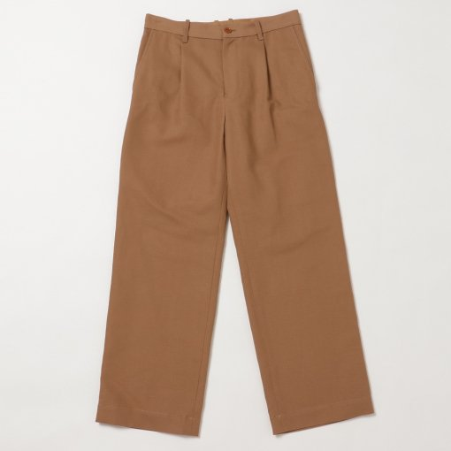 Compact High Twisted Cotton Linen Pants