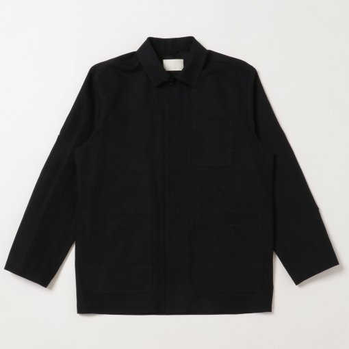Compact High Twisted Cotton Linen Atelier Jacket