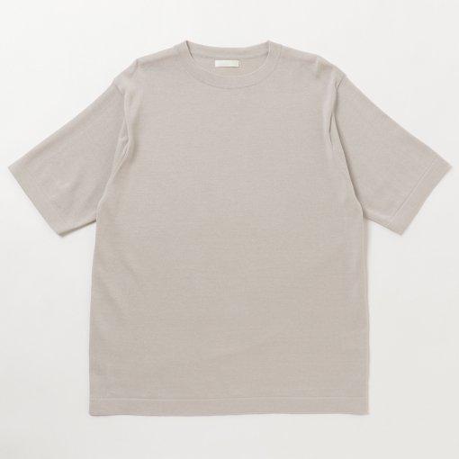 Organic Cotton Crew Neck S/S Sweater