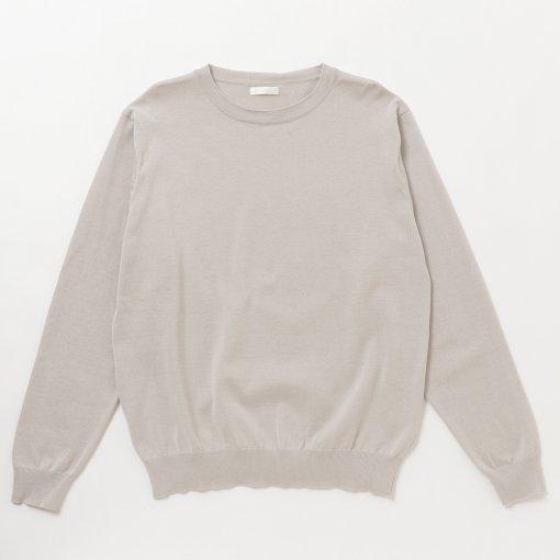 Organic Cotton Crew Neck L/S Sweater