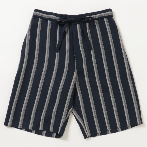 Striped Linen Comfort Pyjama Shorts