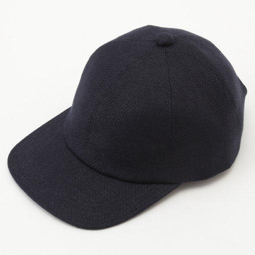 Heavyweight Linen Broken Washer Baseball Cap