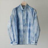 Pure Indigo Tie-dye Shirt (Sample)