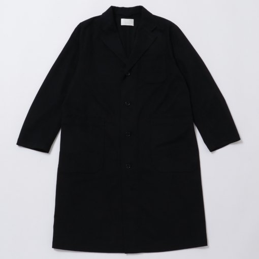 Brushed Cotton Drill Atelier Coat
