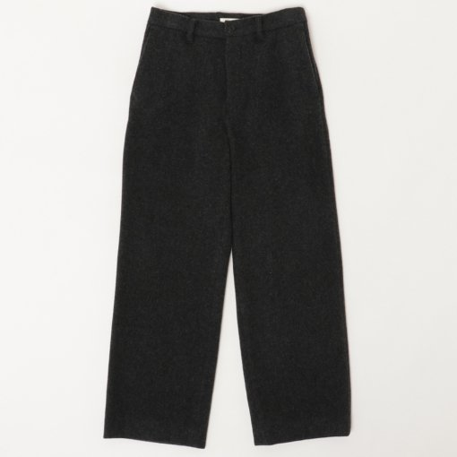 Lamb's Wool Melton Wide Pants
