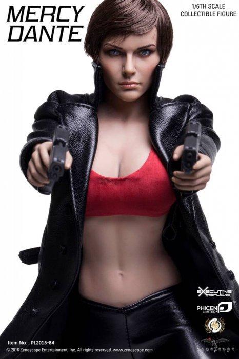 予約1/6 PHICEN PL2015-84  超柔軟性スーパーフレキシブル 美人 マーシー・ダンテ  Mercy Dante