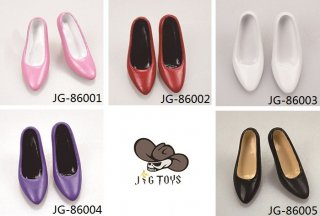 予約1/6 JG TOYS JG-86001/2/3/4/5 美人ガール用女性ハイヒール靴