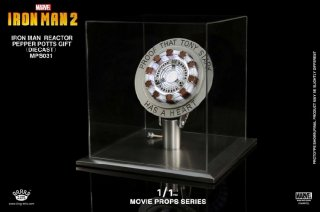 1/1 KingArts  アイアンマン  トニースターク Movie Props Series  Iron Man LED Reactor  MPS031 (Pepper Gift)