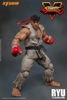 1/12 Storm Toys ブストリートファイターリュウ Street Fighter Ryu ヘッド3種
