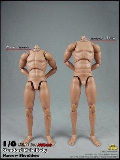 送料無料 1/6 COOMODEL BD001/BD002  standard male Body  最新版 NEW 2.0 男性素体