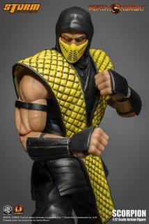 予約 1/12 Storm Toys モータルコンバット Mortal Kombat  Klassic  Scorpion