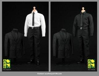 送料無料 1/6 AFS A004  S.H.I.E.L.D. フィル・コールソン  メンズスーツ服セット