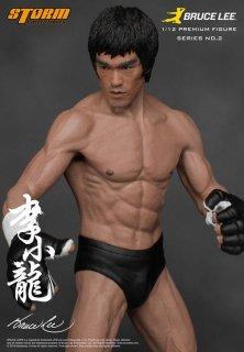 1/12 Storm Toys ブルース・リー 生誕75周年記念プレミアム NO.2  総合格闘技 MMA